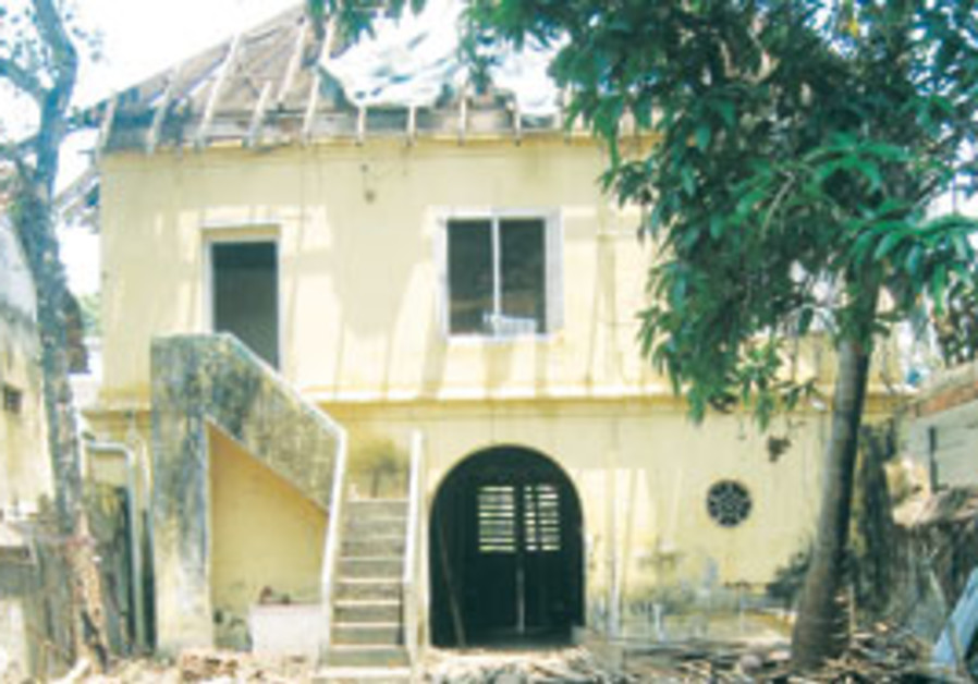 THE PARUR SYNAGOGUE once served greater Cochin's 3