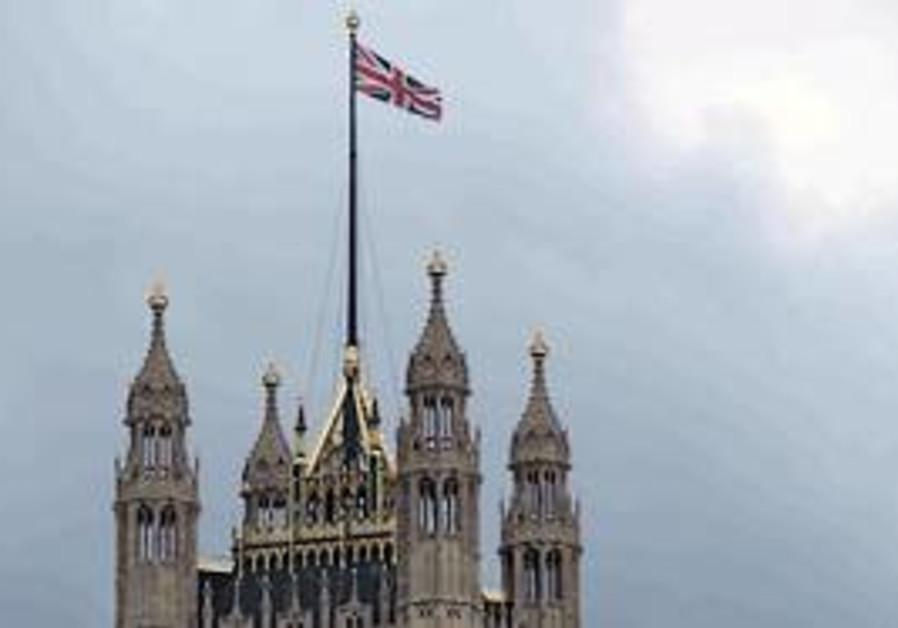 The British Parliament building.