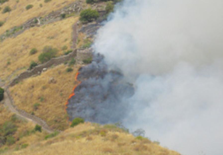 Fire in Gamla