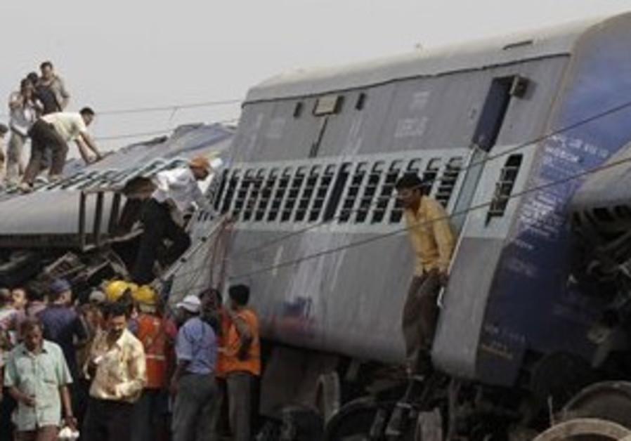 India train blast.