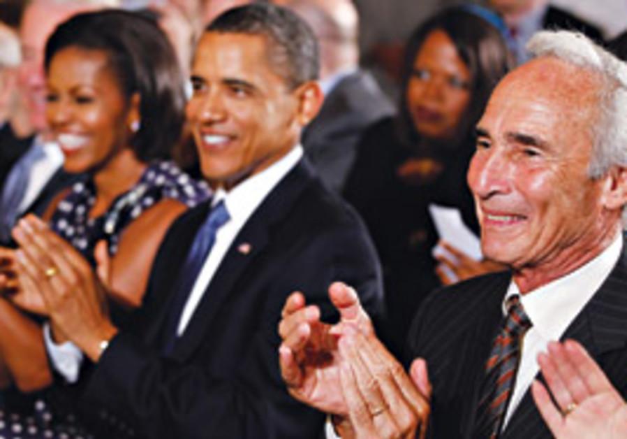 Obama and Sandy Koufax
