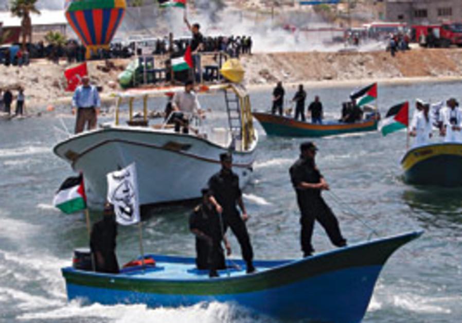 Gaza boats