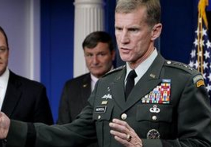 Commander of US and NATO forces in Afghanistan Gen