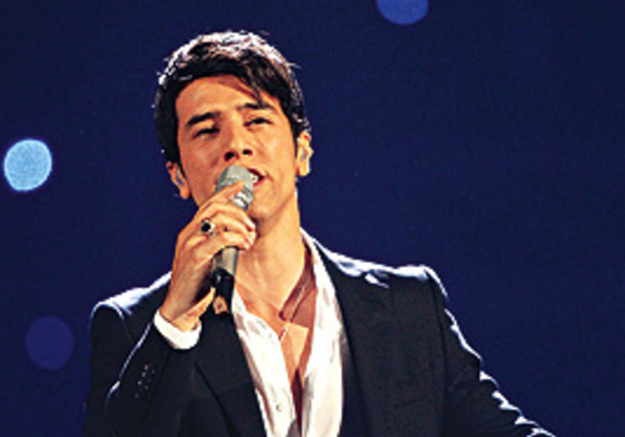 ARTISTIC ACCOLADES. Skaat performs at the Eurovisi