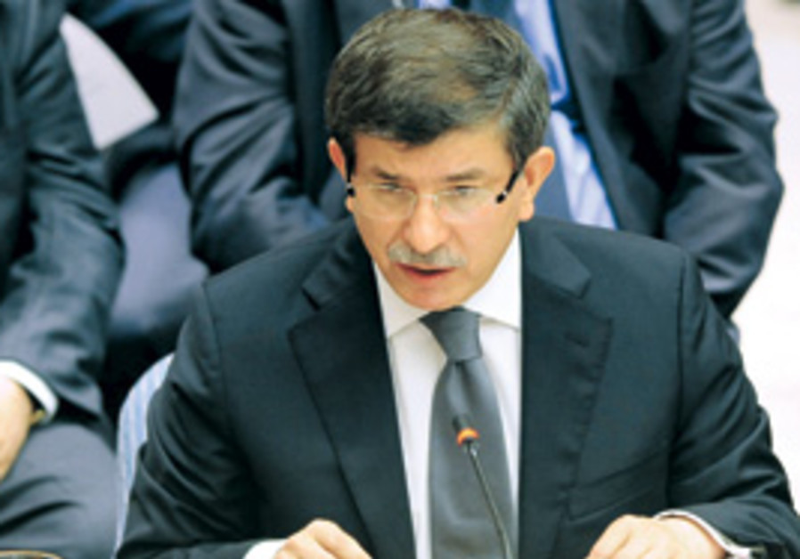 Ahmet Davutoglu, Turkey's foreign minister address