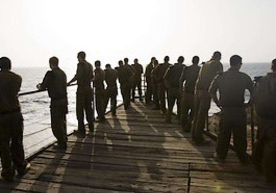 Shayetet 13 Commandos.