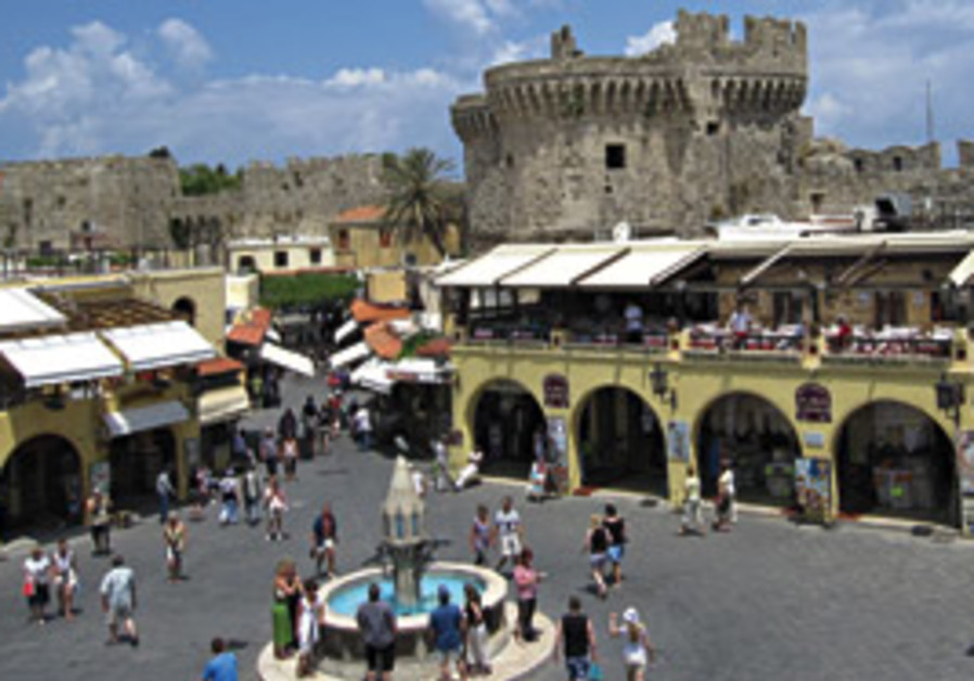 THE OLD CITY of Rhodes is the largest medieval for
