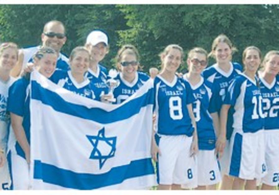 A FOURTH PODIUM finish for the Israeli women's nat