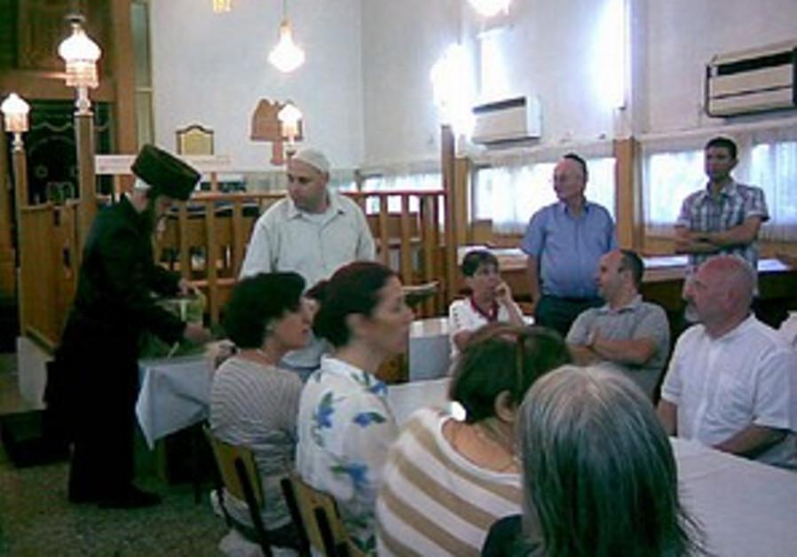 Meretz, UTJ join Haifa synagogue power struggle