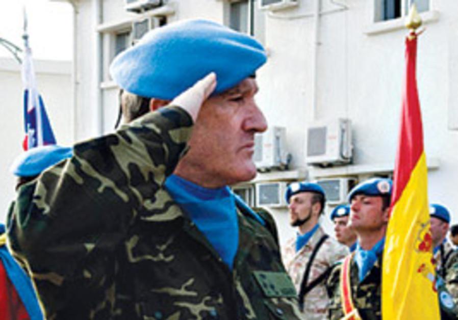 UNIFIL chief Asarta Cuevas