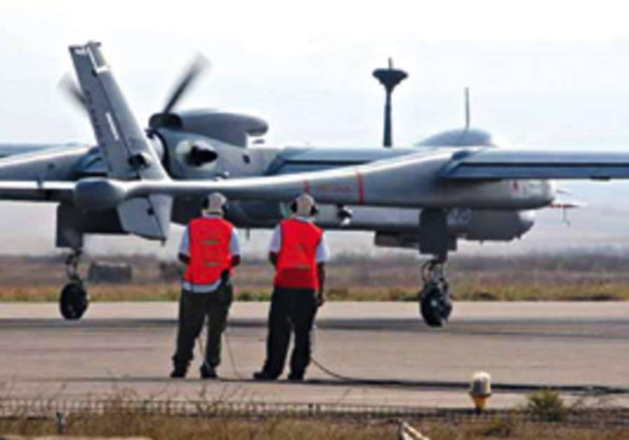 The Heron UAV, of the type being supplied to Turke