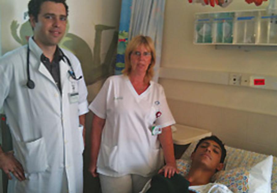 Or Ben-Simon recovers at Carmel Hospital as Dr. La
