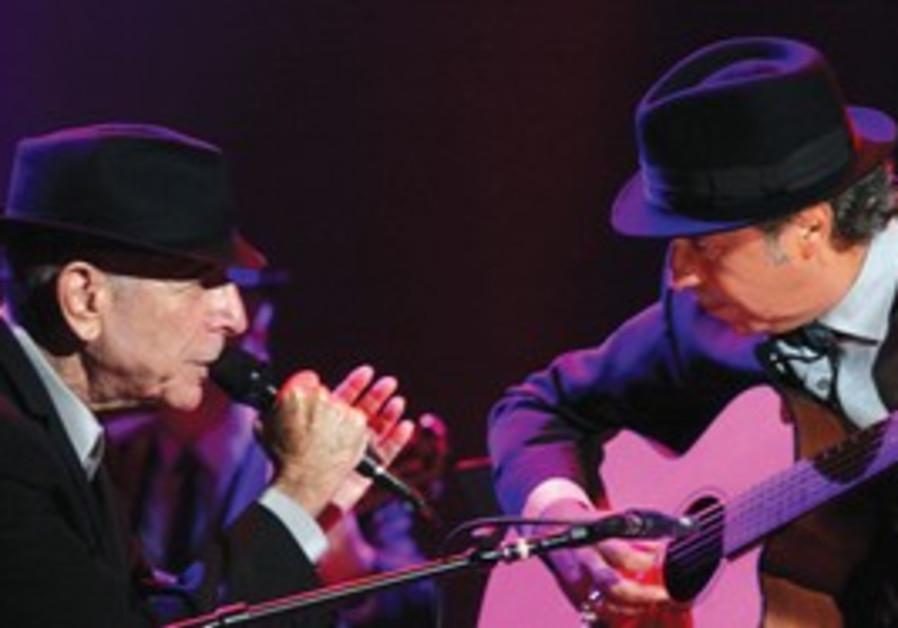 MORE THAN 50,000 Israelis attended Leonard Cohen's
