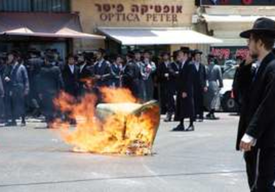 Haredi riots in Jaffa