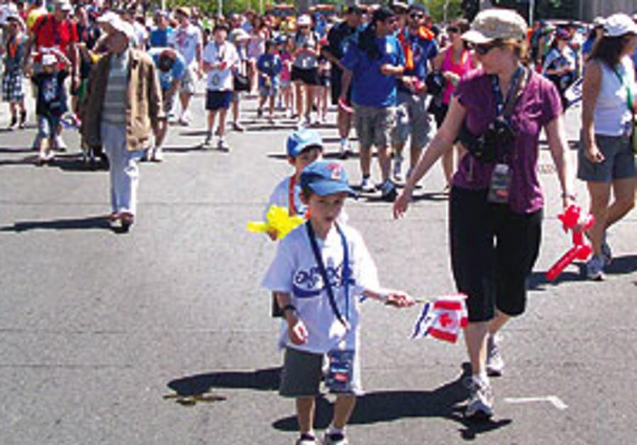 WALK WITH ISRAEL. 'In Toronto, like in Israel, we