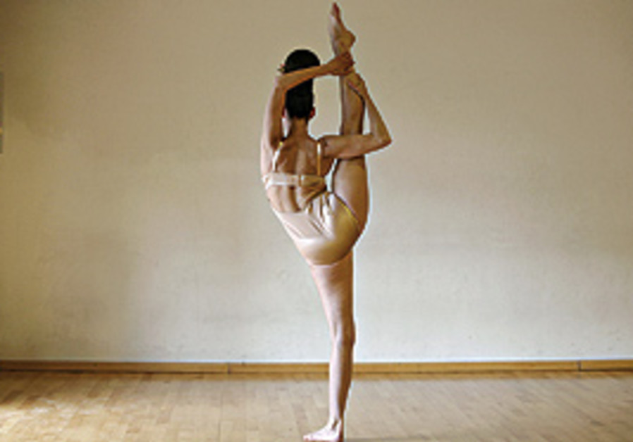 Dancer Talia Paz.