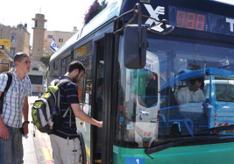 Jerusalem's #38 bus.