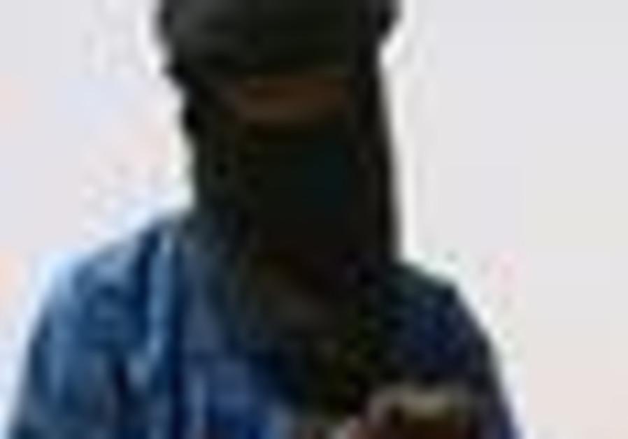 Al qaida operative on a camel