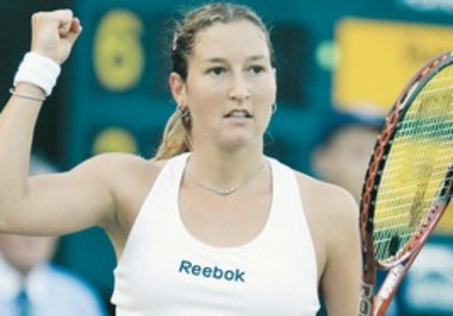 SHAHAR PE'ER beat former world No.1 Ana Ivanovic i