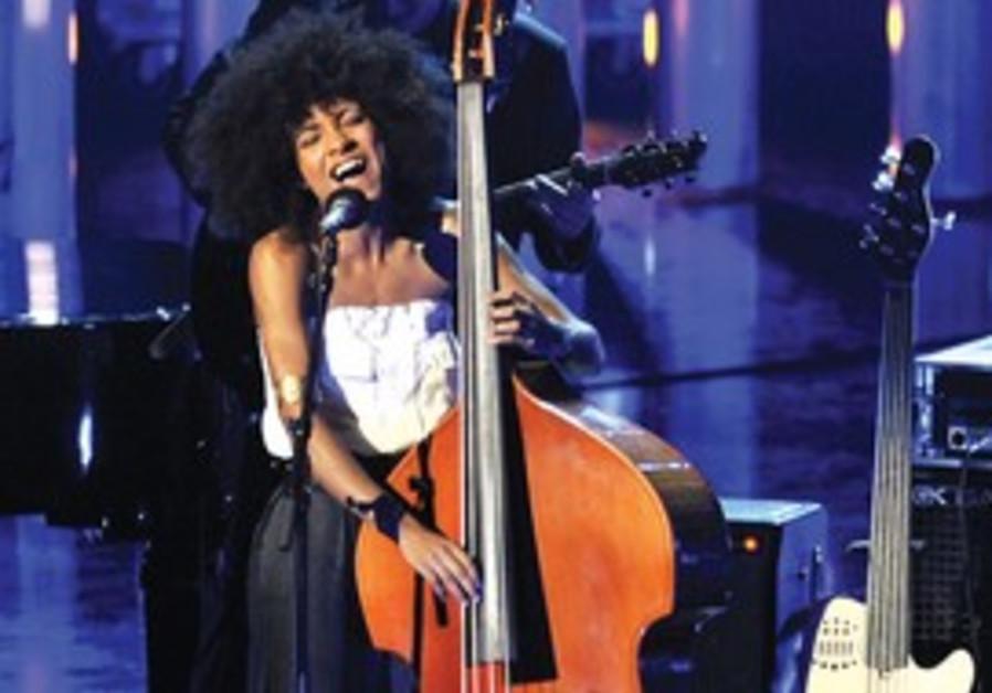 ESPERANZA SPALDING performs during the Nobel Peace
