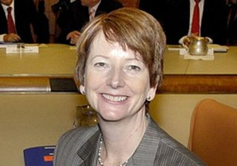 Australia's Julia Gillard.