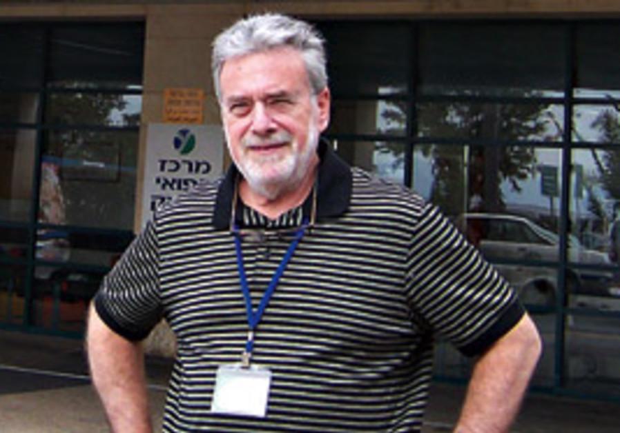 'I had to go back.' Rich at Ha'emek Medical Center