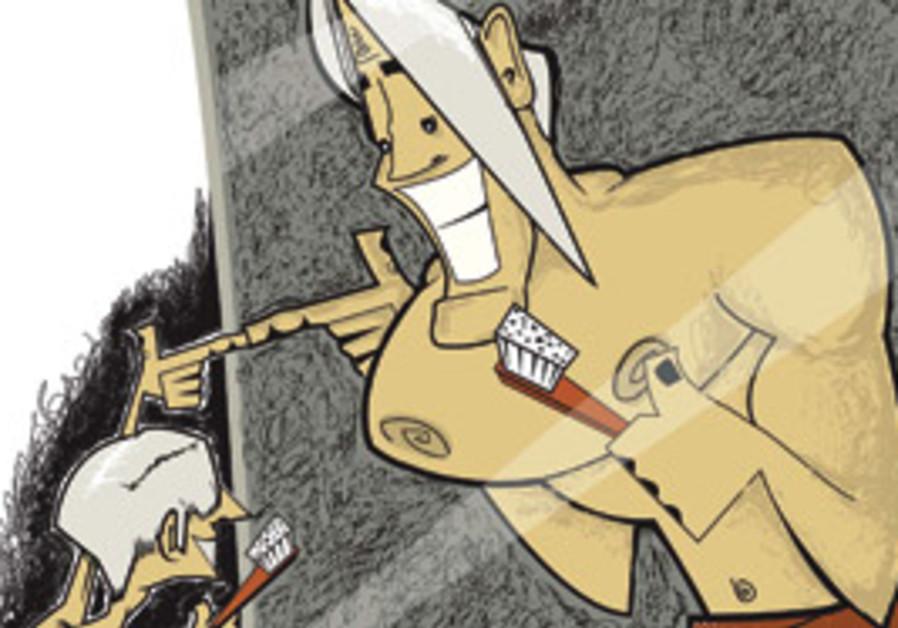Kristopher Lee color illustration of scrawny guy s