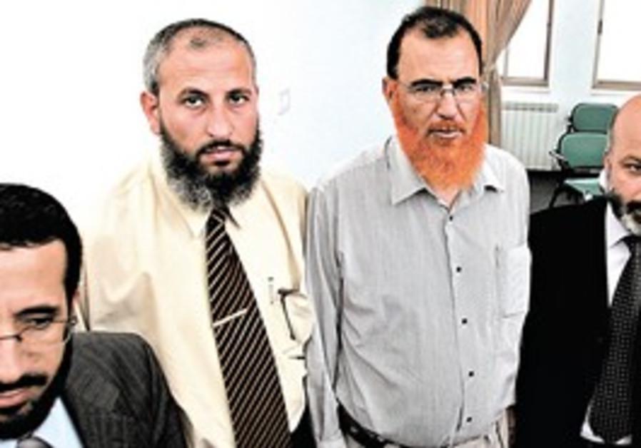 THE FOUR Hamas legislators have agreed to repudiat