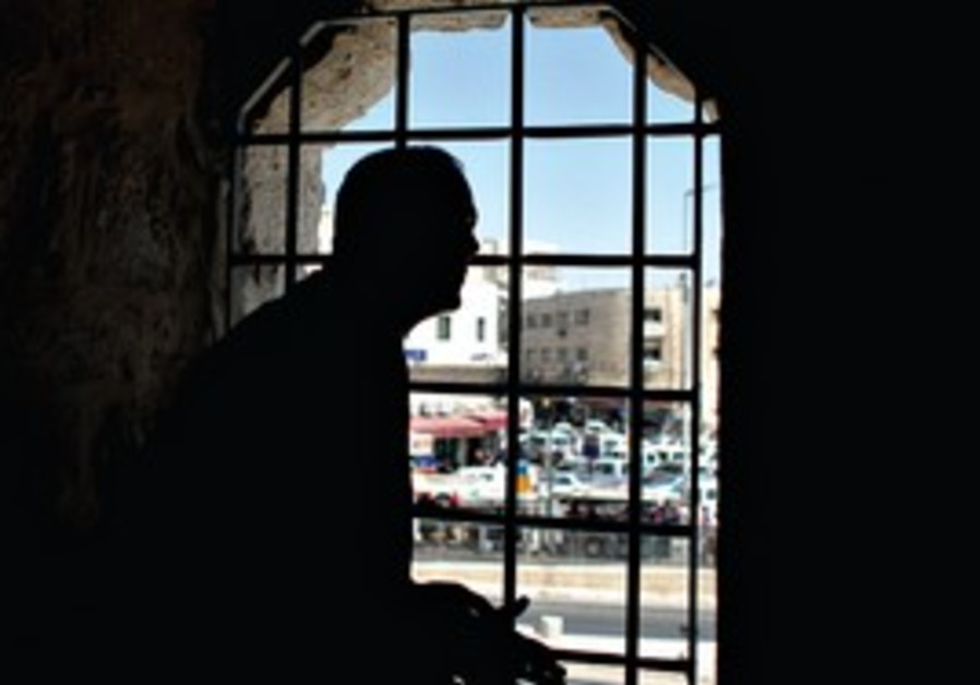 JERUSALEM MAYOR Nir Barkat looks out a window at H