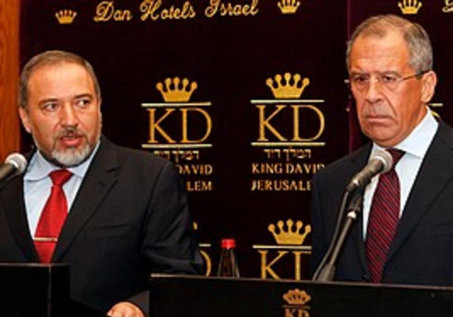 Russian FM meets Israeli FM Lieberman