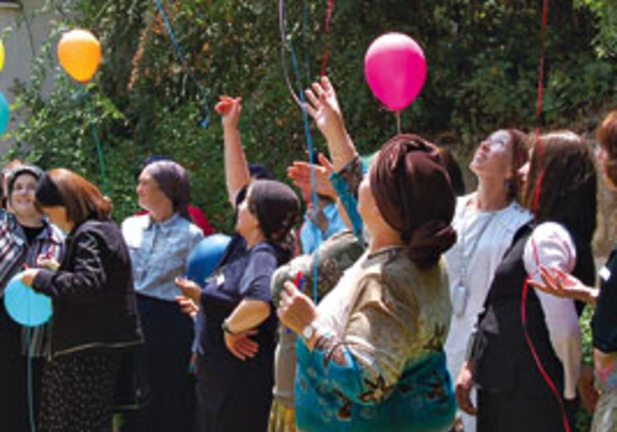 A Beit Natan retreat. Women take a few days' respi