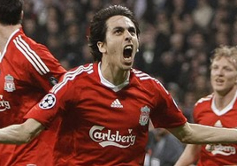 YOSSI BENAYOUN scored six goals in 30 games for Li