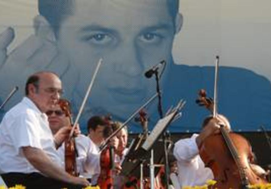 Philhamonic for Gilad Schalit