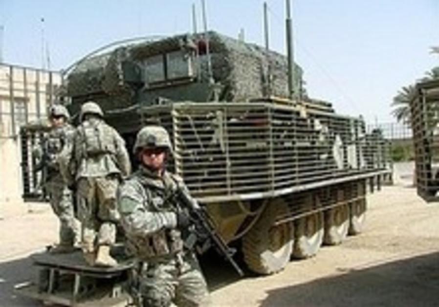 Four US soldiers killed in Baghdad roadside bombings