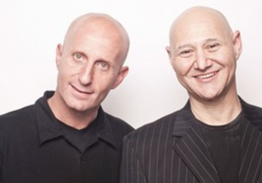 MEDIA BUZZ founders Alon Gal (left) and Yair Nitza