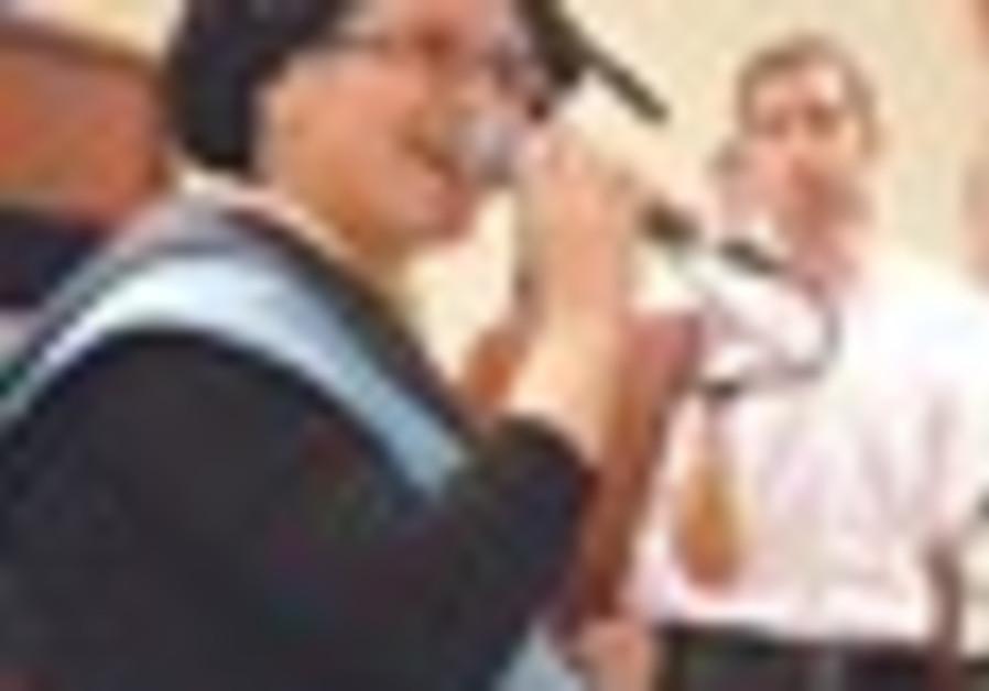 Haredi woman graduating