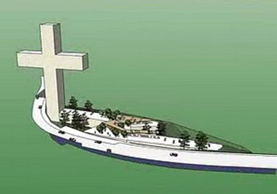 Nazareth wants world's largest cross