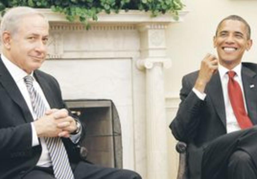 Netanyahu and Obama meet at the White House