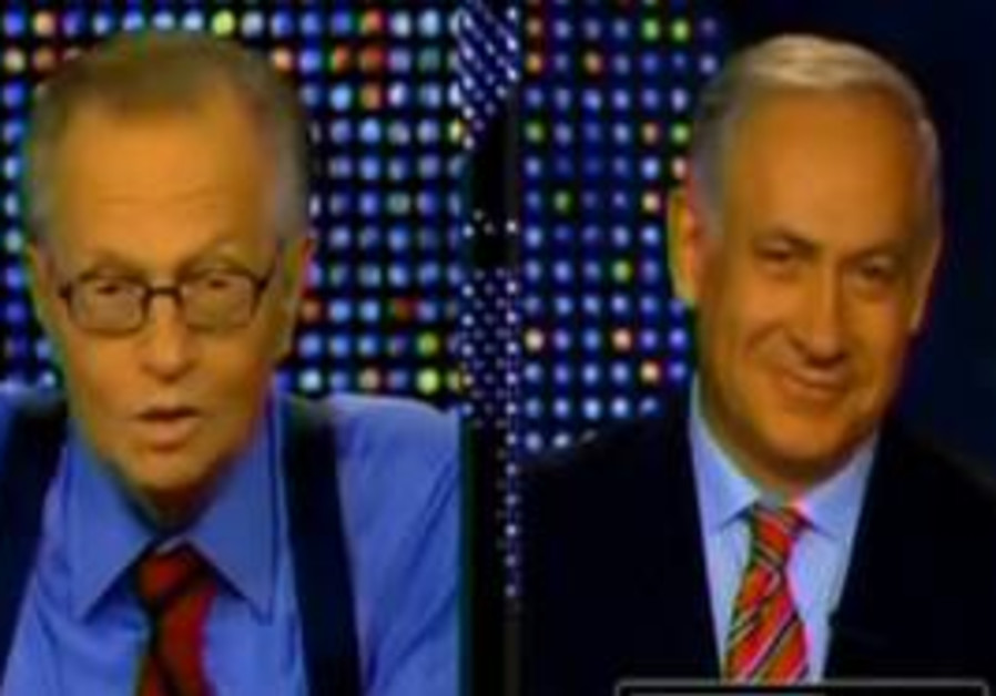 Binyamin Netanyahu on Larry King