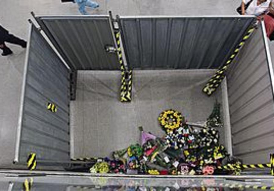 bombings, are hidden by metal doors at King's Cros
