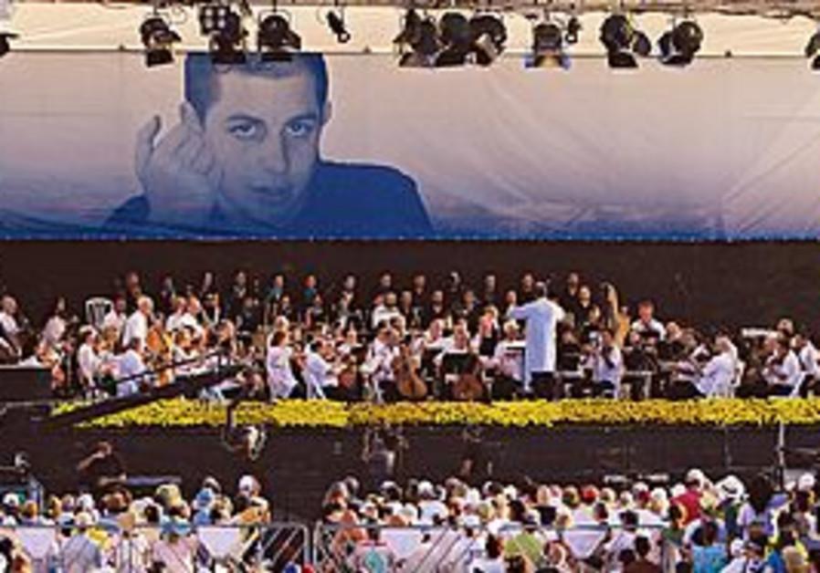 A rally for Gilad Schalit