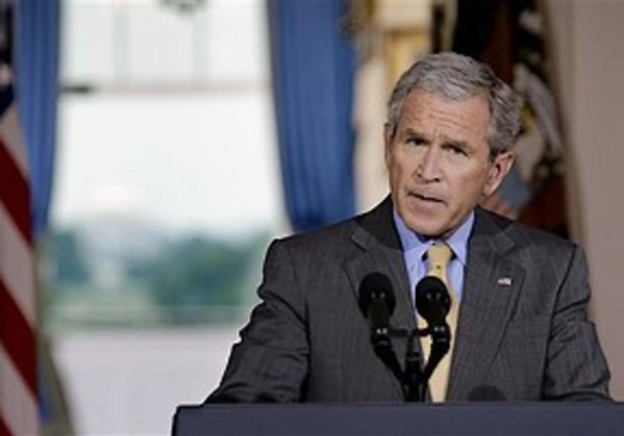Bush in retreat
