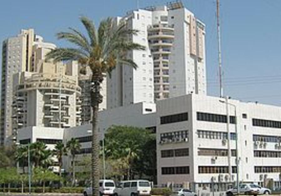 Apartment buildings in Beersheba