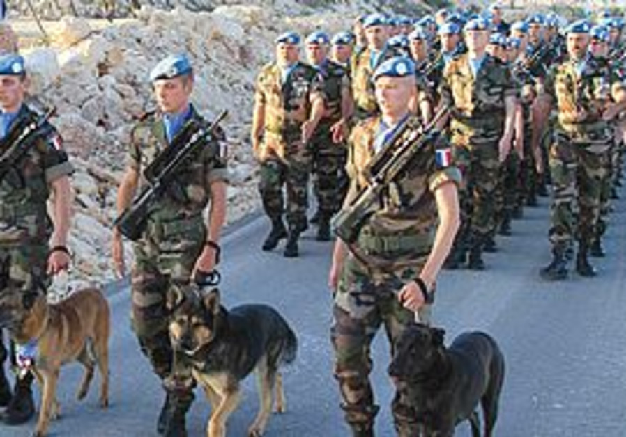 UNIFIL soldiers