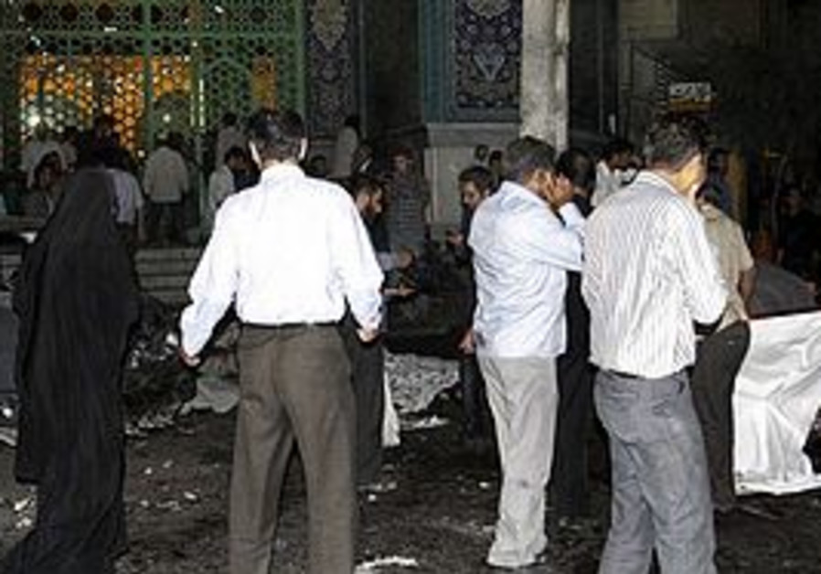 Jundallah bombing in Iran