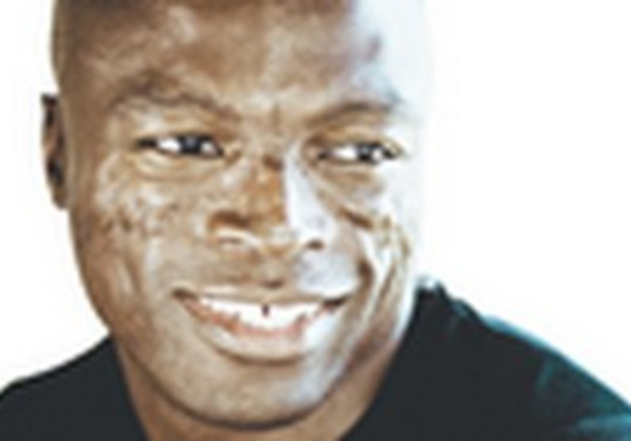 LAUGHING MATTER. Besides having a supermodel for a wife, Seal said the key to a successful marriage
