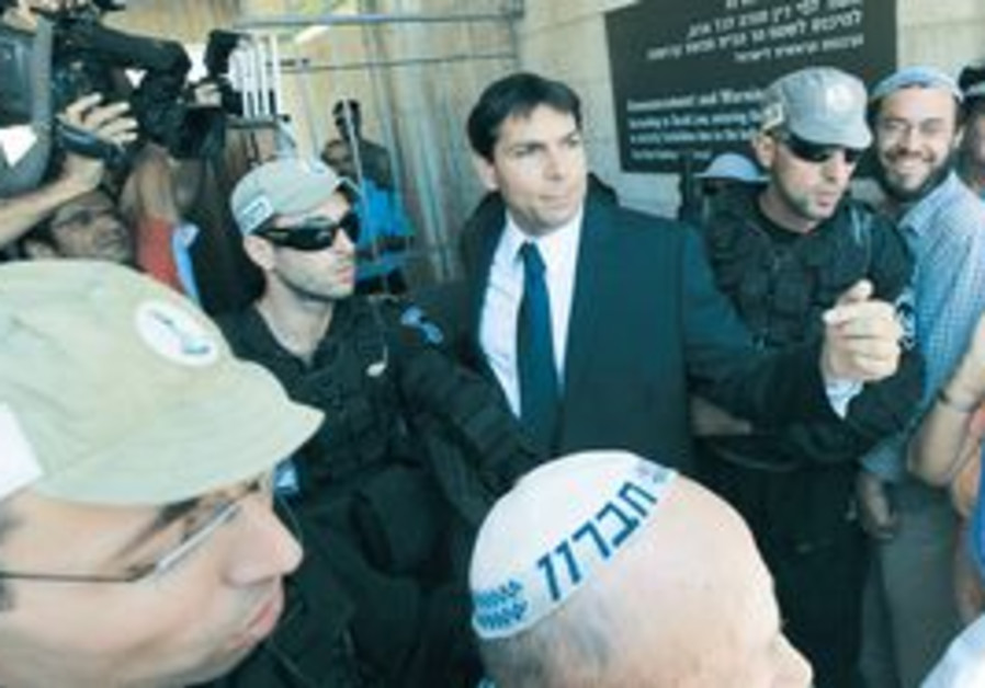 LIKUD MK Danny Danon at the Temple Mount [file]