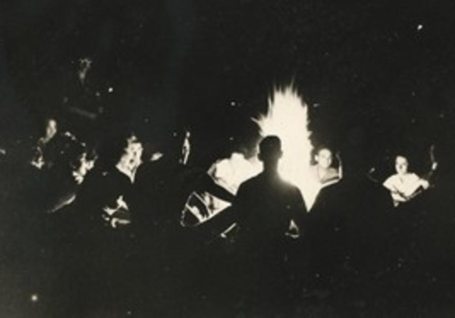 PARTICIPANTS ENJOYING themselves at Camp Daniel Morgan