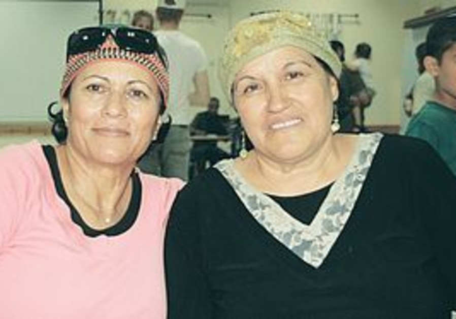 SHULI YISRAELI (left) and Tamar Maman were next-door neighbors in Gaza for close to three decades.