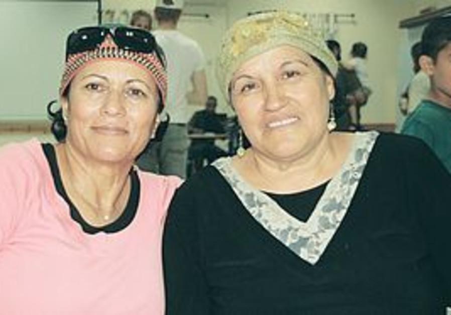 SHULI YISRAELI (left) and Tamar Maman were next-door neighbors in Gaza for close to three decades.